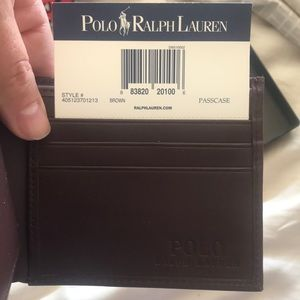 Other - NWT polo Ralph Lauren wallet